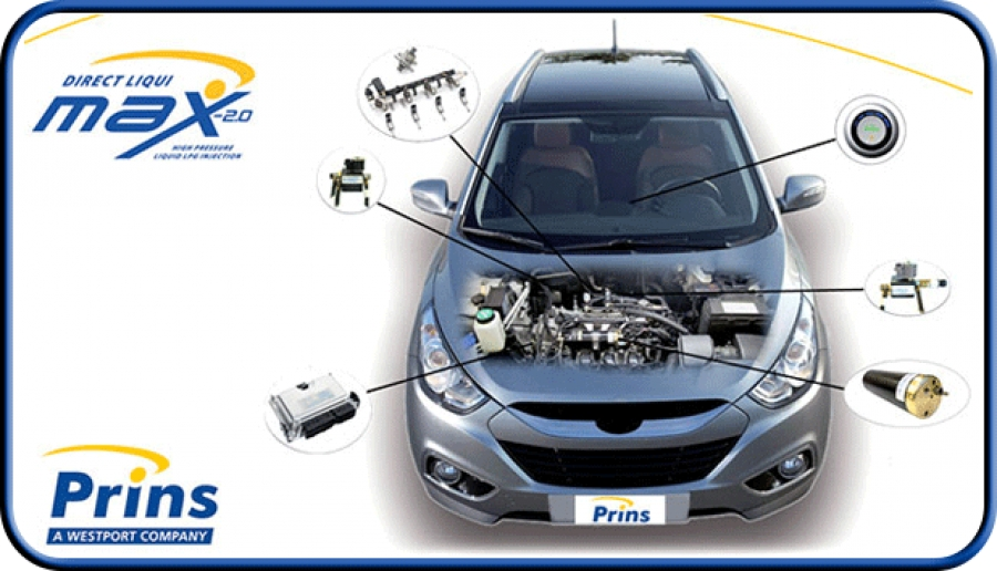 Prins DLM - bezpośredni wtrysk benzyny ujarzmiony przez LPG